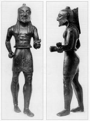 Αρχαϊκη εξάρτυση Σπαρτιάτη