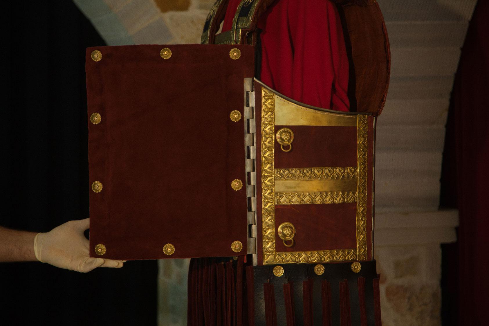Cuirass of Phillip II of Macedon