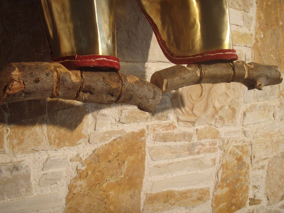 Ancient Greek Greaves