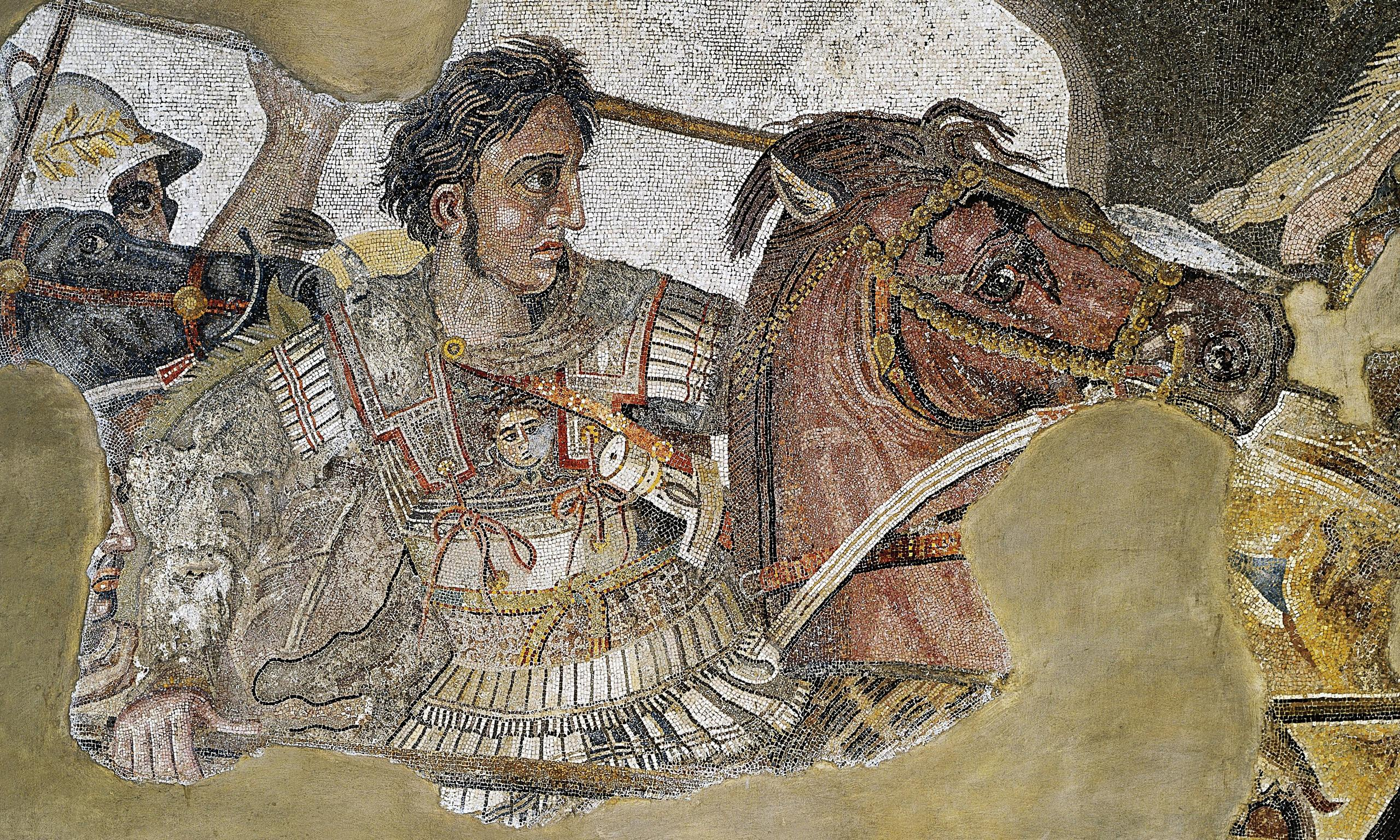 Linothorax of Alexander the Great (second version)
