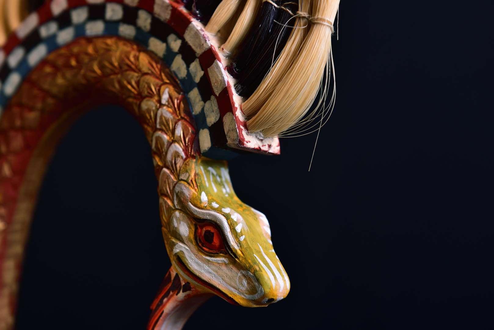 Python scaled Corinthian helmet