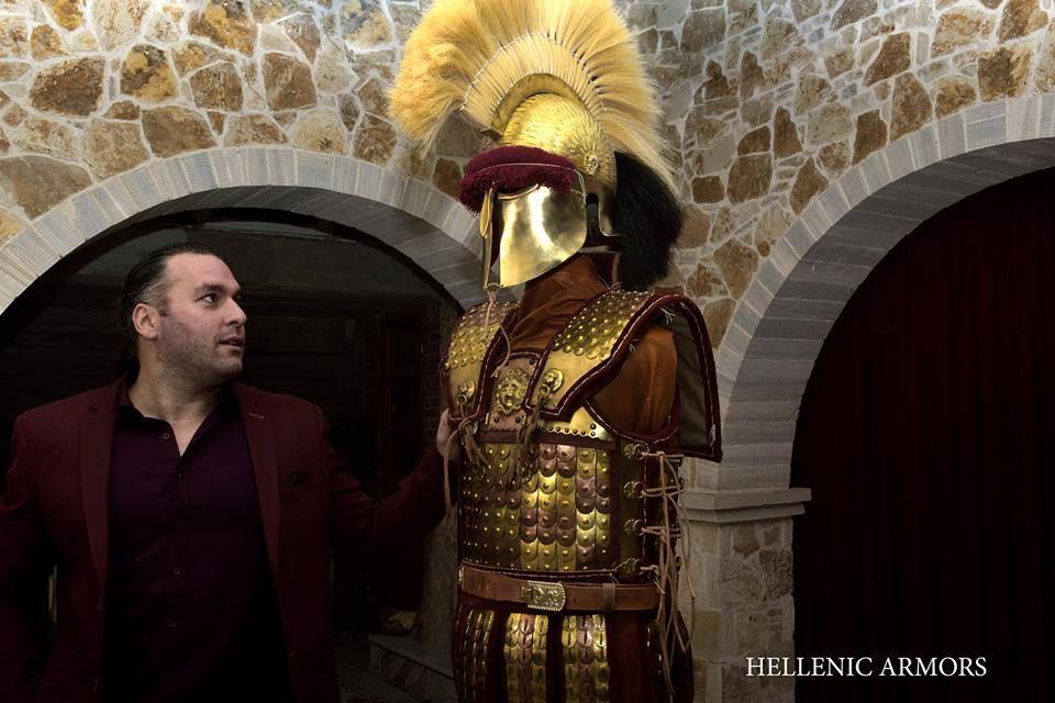 δημητρης κατσικης - η τεχνη της αρματοποιϊας